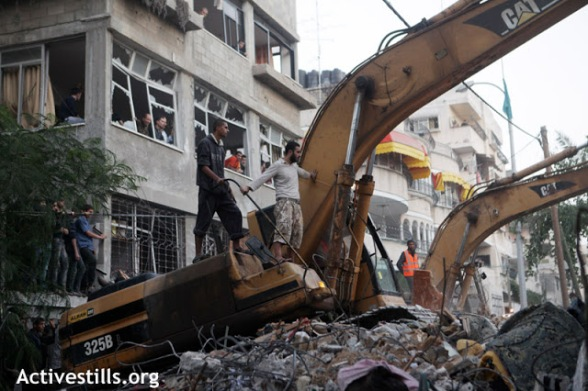 Nov 18 2012 Gaza Under Attack Israel photo by ActiveStills