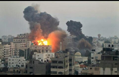 Nov 19 2012 Gaza Under Attack