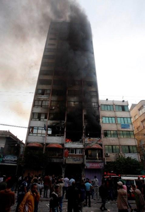 Gaza Under Attack - Nov 19, 2012 Photo by WAFA
