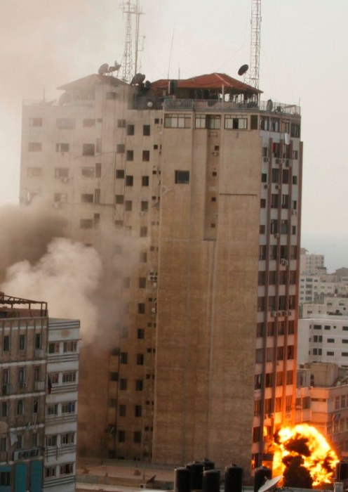 Gaza Under Attack - Nov 19, 2012 Photo by WAFA