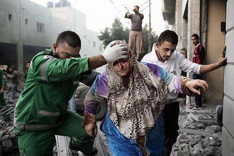 Nov 19 2012 Gaza Under Attack - Nov 19, 2012