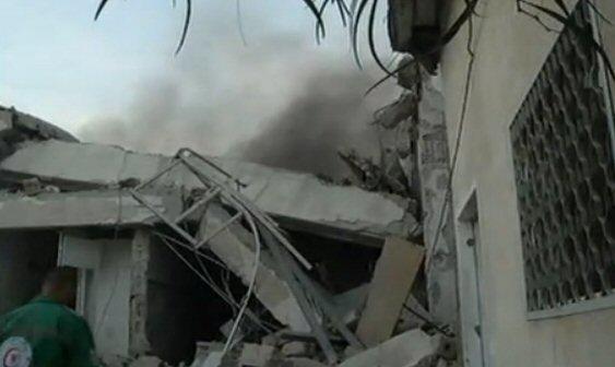 Gaza Under Attack - Nov 19, 2012
