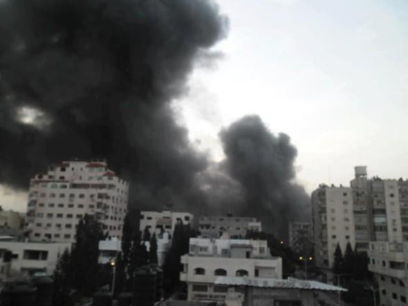 Gaza, Nov 19, 2012 Photo by Mara ElAwadi