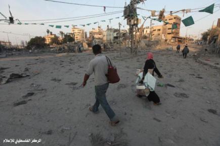Nov 19 2012 Gaza Under Attack Israel