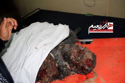 Nov 19 2012 Gaza Under Attack by Israel:  Shaheed Ramadan Ahmad Mahmoud