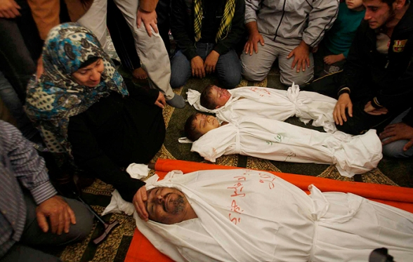 Nov 20 2012 Shuhada Gaza Under Attack