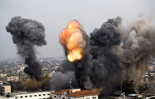 Attack on second Football stadium - Gaza Nov 21, 2012