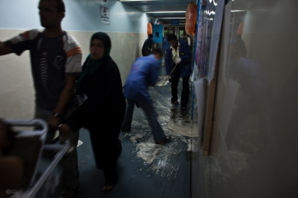 Nov 10, 2012 A live report from the Hospital in Gaza Photo by @MaticZorman