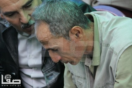 The father of Shaheed Matter Abu al-Atta Killed on Nov 10, 2012