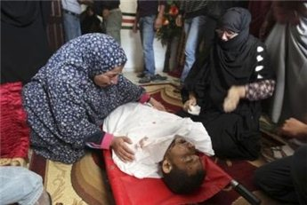 More than 170 Palestinians were killed in the eight-day assault on the  Gaza Strip. (MaanImages/File)