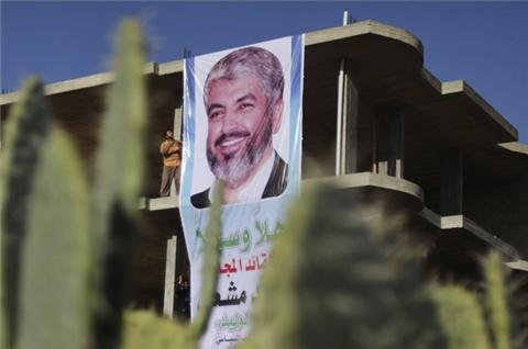 Hamas chief Meshaal expected in Gaza photo via Al Jazeera