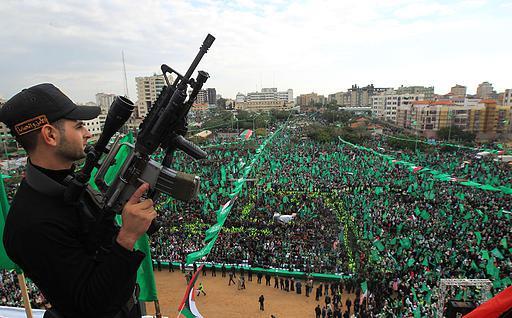 Celebrations in Gaza Dec 8, 2012 - Photo via Paldf