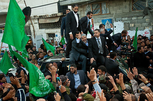 Hamas Celebration 25 years - Gaza - Photo by Al Qassam Brigades