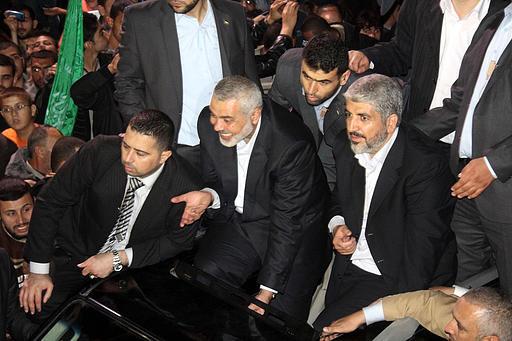 Hamas Celebration 25 years - Gaza - Photo by Al Qassam Brigades