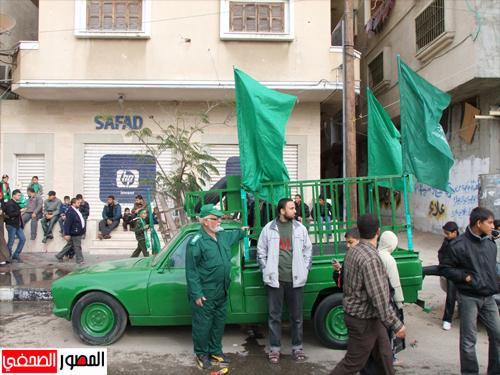 Gaza Celebrates 25 years Hamas & Resistance - Dec 8, 2012 Photo via Paldf