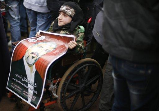 Photo via Al Aqsa Voice Breaking - Gaza Dec 8, 2012