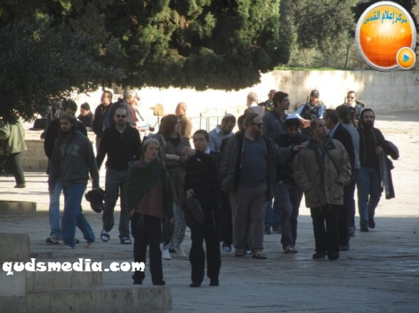 Al Aqsa invasion Dec 31 2012 Palestine 21