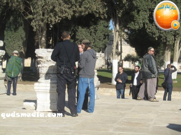 Al Aqsa invasion Dec 31 2012 Palestine 26