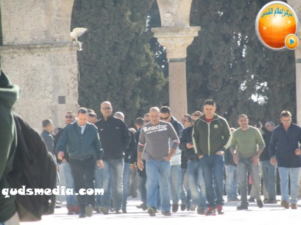 Al Aqsa invasion Dec 31 2012 Palestine 31