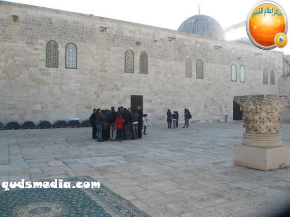 Al Aqsa invasion Dec 31 2012 Palestine 7