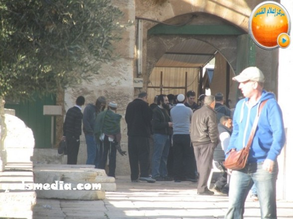 Al Aqsa invasion Dec 31 2012 Palestine 8
