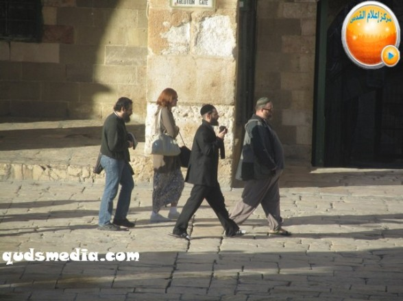 Al Aqsa invasion Dec 31 2012 Palestine 9