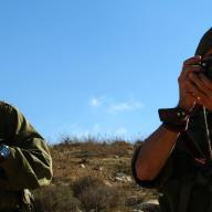 Dec 17 2012 Israel soldier chase away shephers and flocks 132192_10151134163261986_1769677015_o