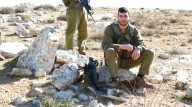 Dec 17 2012 Israel soldier chase away shephers and flocks 259591_10151134164096986_2105097338_o