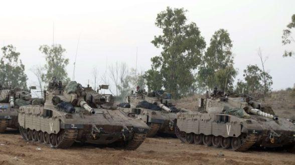 Israeli Tanks (File Photo)