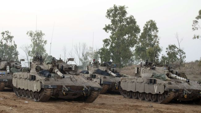 Israeli Tanks (File Photo)