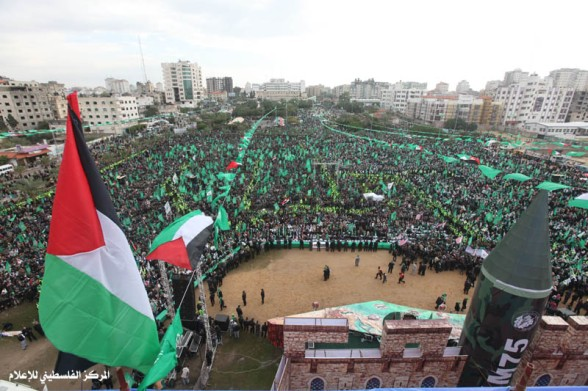 Celebrations in Gaza, Dec 8, 2012 Photo via Paldf