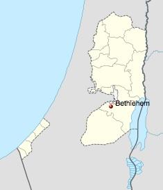 map bethlehem