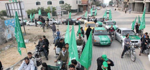 Hamas Celebration 25 years - Gaza - Photo via paldf