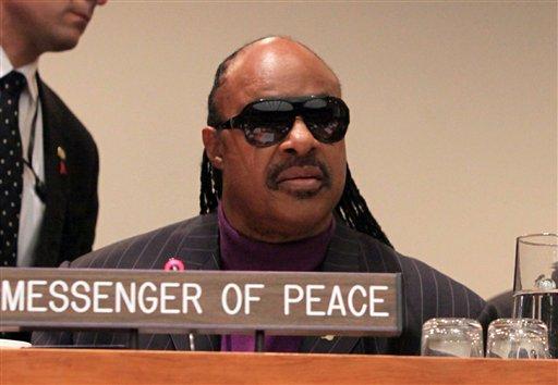 UN Stevie Wonder