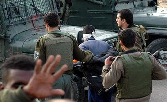 Israeli forces routinely arrest Palestinians in the West Bank.