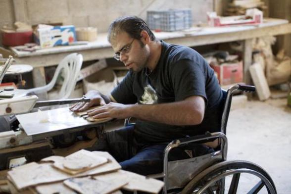 Fifteen per cent of the world's population live with some form of disability. Yet despite this, around the world people with disabilities experience marginalisation and discrimination in their access to essential services. In this podcast to mark International Day of Persons with Disabilities on 3 December, Nader Abu Amsher, director of Christian Aid partner the YMCA rehabilitation programme in the occupied Palestinian territory, talks about a partnership with the Lebanese Physically Handicapped Union, which is helping to restore hope to the lives of people living with disabilities in the occupied Palestinian territory and Lebanon.