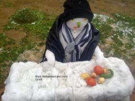 Jan 10, 2013 - Palestinian Snowman