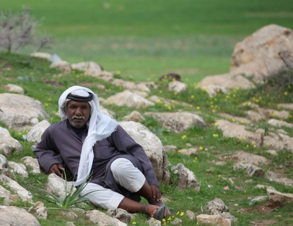 Bedouin from Al Maleh, Northern Jordan Valley - Photo by WAFA 10
