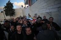Bethlehem residents mourn martyr's Lubna Hanash Photo by Ahmad Mazhar - WAFA