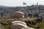 Israel orders Palestinians out of 'tent city' Photo via Al Jazeera