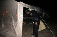 Israel attacks Palestine Protest Village Bab Al Shams Eviction Photo by Raya IMG_7333