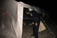 Israel attacks Palestine Protest Village Bab Al Shams Eviction Photo by Raya