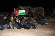 Israel attacks Palestine Protest Village Bab Al Shams Eviction Photo by Raya IMG_7343