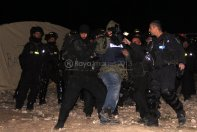 Israel attacks Palestine Protest Village Bab Al Shams Eviction Photo by Raya IMG_7457