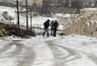Jan 10 2012 Halhul Palestine in Snow