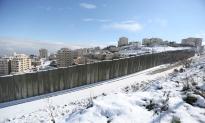 Jan 10 2013 - Al Quds in White - Snow in Palestine - Photo by Afif Amira-WAFA