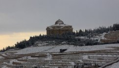 Jan 10 2013 Blanket of snow covers Nablus  - Photo by WAFA 3