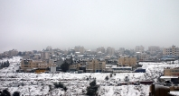 Jan 10 2013 Blanket of snow covers Ramallah - Photo by WAFA 1