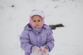 Jan 10 2013 Blanket of snow covers Ramallah - Photo by WAFA
