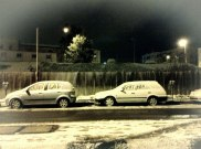 Jan 10 2013 Death to Arabs scribbled in snow in Jerusalem Settler terror